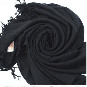 Warm Women Wool Blends Soft Scarves Long Large Wra